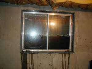 Leaky Basement Window wells