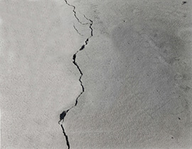 Problems Associated To A Wet And Leaky Basement. Wet Floor Crack